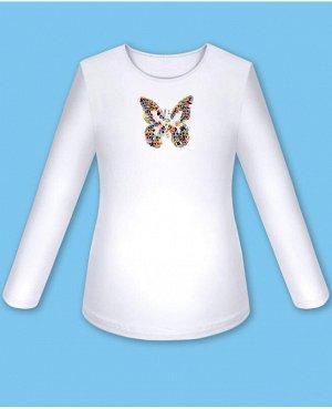 Белая блузка для девочки Цвет: белый