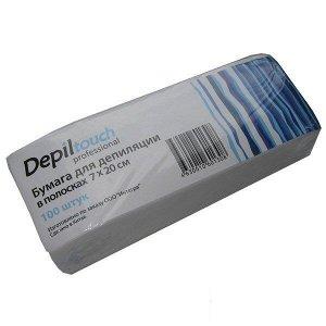 Бумага для депиляции 7*20 см (50 шт) Depiltouch