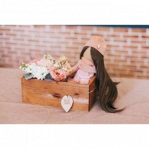 Набор деревянных ящиков 3 в 1 с шильдиком «Тебе с любовью», 30 см ? 21 см ? 12 см