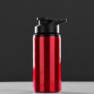 Фляжка-бутылка спортивная «Модерн», 500 мл, микс 1185673