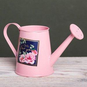 Металлическое кашпо для цветов Only for you. 15 ? 7 см
