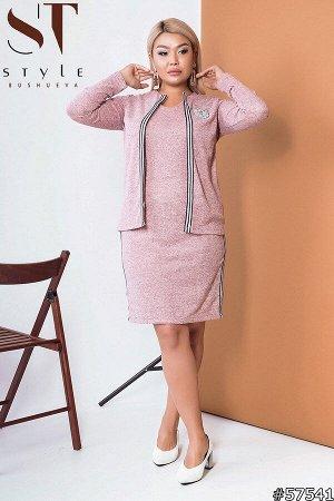 Комплект 57541 (платье + накидка)