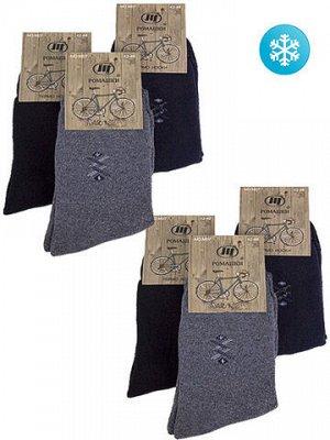 M07 носки мужские утепленные 42-48 (12шт.), цветные