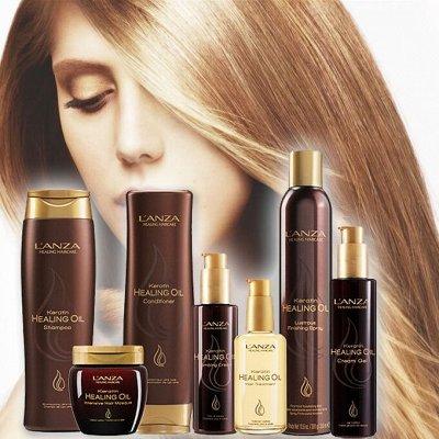 ⚡*L'an*za - Исцеляющий уход для волос! Акция!⚡   — KERATIN HEALING OIL - восстанавливающий уход и стайлинг — Для волос