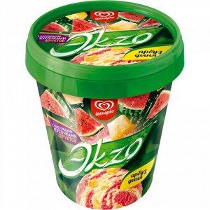 Ведёрко «Экзо», вкус арбуз-дыня. Инмарко. 520 грамм