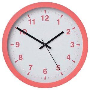 ЧАЛЛА Настенные часы, розовый, 28 см