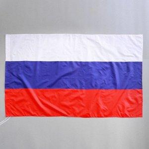 Флаг России 90х145 см, полиэстер