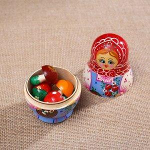 Матрёшка «Коробейник» 4 кукольная, микс