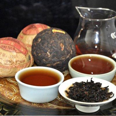 Чай Китая! Зеленый, Пуэр, Фруктовый! Лапша, Сладости, Снеки — ПУЭРЫ - Рассыпные и Прессованные! — Чай