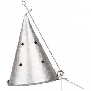 Кормушка самосвал метал. высота 9,5см, диаметр 7см Helios HS-KD-0043