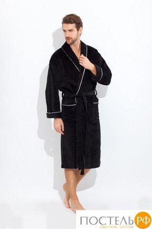 Банный халат Style Цвет: Черный (xxxL). Производитель: Peche Monnaie
