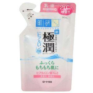 Hada Labo Запасной  блок.Гиалуроновое молочко-эмульсия Gokujyun Hydrating Milk 140 мл