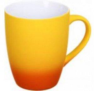 """Кружка """"градиент"""", желто-оранжевая"""