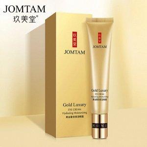Антивозрастной крем вокруг глаз Jomtam 24K gold luxury, 20 г