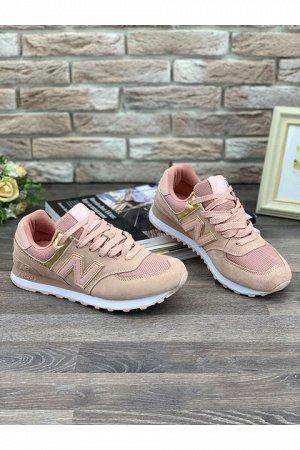 Женские кроссовки 006-26 розовые
