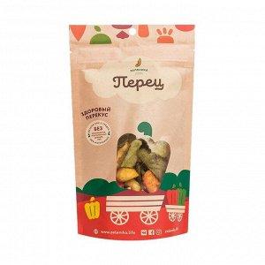 Здоровый фруктовый перекус из сладкого перца, зеленика, 30г