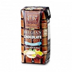 Молоко фисташковое с бельгийским шоколадом, 137 Degrees, 180мл