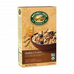 Хлопья органические кукурузные хэритидж с древними злаками, heritager flakes .375г