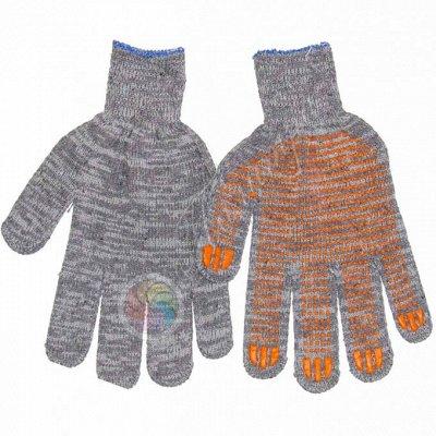 ✔Все в наличии❗️ Одежда для всей семьи / Товары для дома — Перчатки трикотажные/с ПВХ 5-нитки 10 ксласс — Перчатки