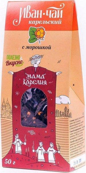 """Напиток чайный """"Иван-чай Карельский"""" с морошкой"""