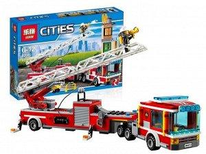 Конструктор LEPIN Cities Пожарная машина , 421 дет арт. 02086