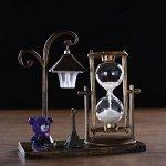 """Часы песочные """"Уличный фонарик"""" с подсветкой, 15.5х6.5х15.5 см, микс"""