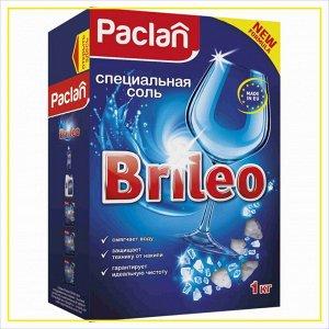 ПАКЛАН BRILEO Соль для посудомоечных машин, 1кг