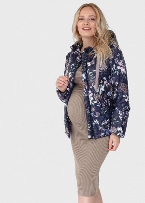 """Куртка демис. 2в1 """"Юджин"""" для беременных; цвет: синий"""