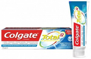 З.паста COLGATE 75мл Total12 Pro-Видимый эффект