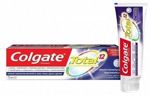 З.паста COLGATE 75мл Total12 Проф.Отбеливание