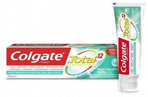 З.паста COLGATE 75мл Total12 Проф.чистка гель
