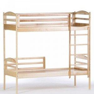 Кровать детская 2-ярусная Ника, 1400х600х1400, Массив