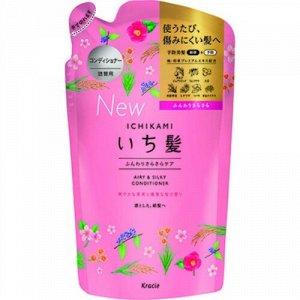 "72180kr ""Ichikami"" Бал-опол-ль для придания объема поврежденным волосам с ароматом граната, 340г, см.у"