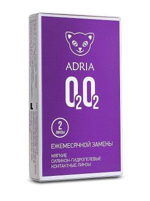1-мес контактные линзы Adria O2O2 (2 линзы)