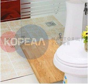 Двухсторонний ПВХ коврик для кухни и ванной Onebin L 120*44*1.4