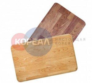Двухсторонний ПВХ коврик для кухни и ванной Onebin S 75*44*1.4