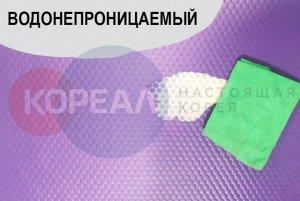 Двухсторонний ПВХ коврик для фитнеса и занятий йогой 181*70*1.4 см.