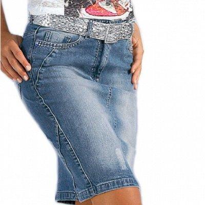 Корректирующее белье — Джинсовые юбки — Прямые юбки