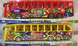 """Автобус Детская игрушка """"Автобус"""". Материал : пластмасс Размер 35*8,5*11 Без выбора цвета."""