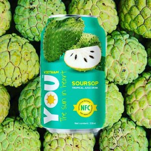 """Тропический напиток с соком Анноны """"You Vietnam"""", 0,33 л"""