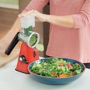 Ручная овощерезка-терка с насадками