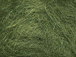 Сизаль натуральная 100 гр уп цвет болотный
