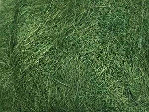Сизаль натуральная 100 гр уп цвет лиственно-зеленый