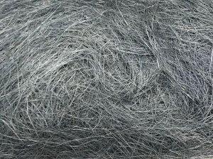 Сизаль натуральная 100 гр уп цвет серо-голубой