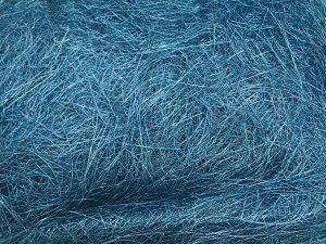 Сизаль натуральная 100 гр уп цвет голубой