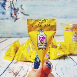May Island 7 Days Highly Concentrated Collagen Ampoule Сыворотка с коллагеном, 3гр
