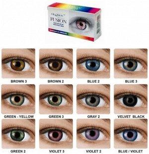 Оттеночные контактные линзы OKVision Fusion (2л)