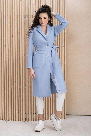Пальто Пальто ЮРС 20-118/1  Состав ткани: ПЭ-42%; Шерсть-6%; Акрил-52%;  Рост: 164 см.  Это пальто – идеальное решение для женщин, которые предпочитают носить трендовые предметы гардероба. Така