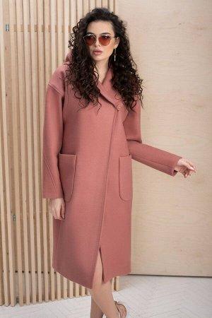 Пальто Пальто ЮРС 20-180/2  Состав ткани: Вискоза-20%; ПЭ-80%;  Рост: 164 см.  Классическое, изысканное пальто просто идеально подойдет женщинам, которые предпочитают универсальные вещи. Такой фасон