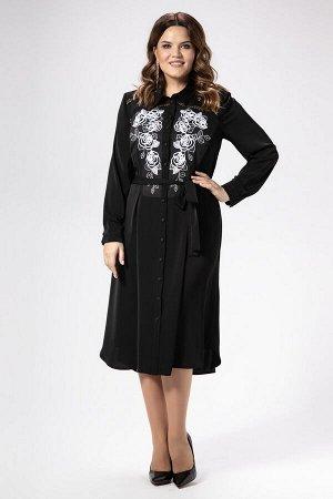 Платье Панда Артикул: 468480 черный